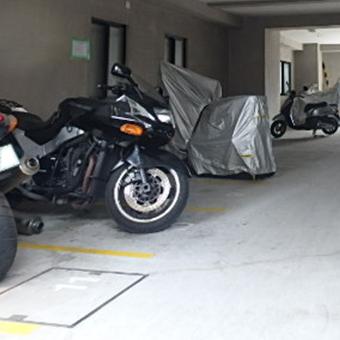 バイク駐輪OK